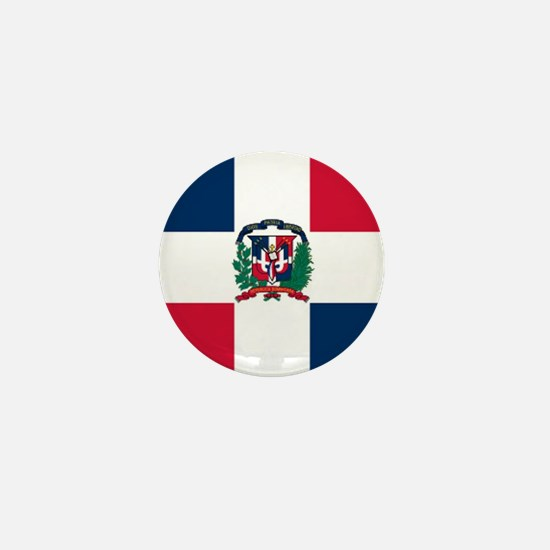 Dominican Republic Mini Button