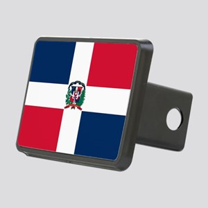 Dominican Republic Rectangular Hitch Cover