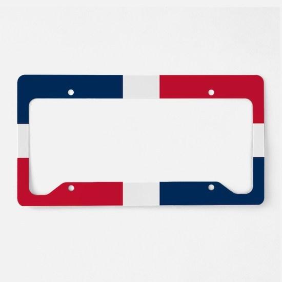 Dominican Republic License Plate Holder
