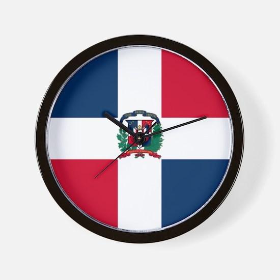 Dominican Republic Wall Clock