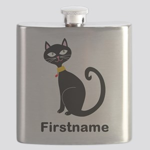 Black Cat (p) Flask