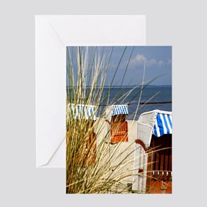 Beach Day Greeting Cards