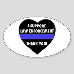 I Support Law Enforcement Sticker