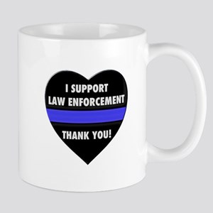 I Support Law Enforcement Mugs