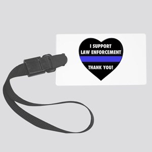 I Support Law Enforcement Luggage Tag