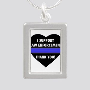 I Support Law Enforcement Necklaces