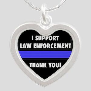 I Support Law Enforcement Necklaces