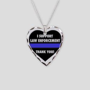 I Support Law Enforcement Necklace