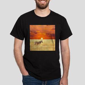 Zebra Dark T-Shirt