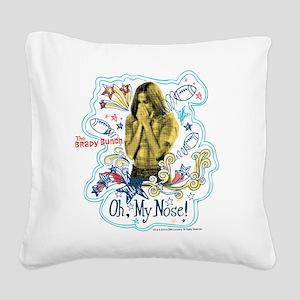 The Brady Bunch: Marcia Brady Square Canvas Pillow