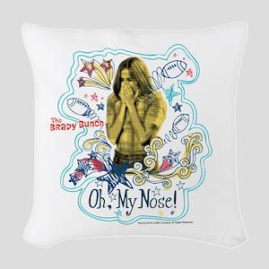 The Brady Bunch: Marcia Brady Woven Throw Pillow