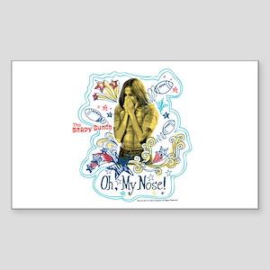 The Brady Bunch: Marcia Brady Sticker (Rectangle)