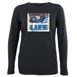 SNOWMOBILING-IS-LIFE- Plus Size Long Sleeve Te