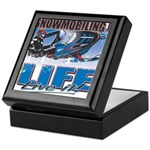 SNOWMOBILING-IS-LIFE- Keepsake Box