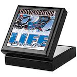 SNOWMOBILING-IS-LIFE- Keepsake Box