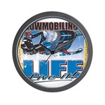 SNOWMOBILING-IS-LIFE- Wall Clock