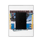 SNOWMOBILING-IS-LIFE- Picture Frame