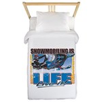 Snowmobiling-Is-Life- Twin Duvet
