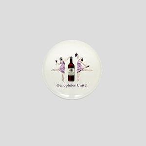 Oenophiles Unite! Mini Button
