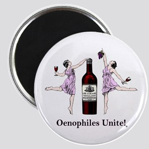 Oenophiles Unite! Magnets