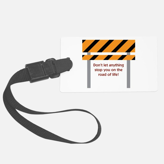 Road Of Life Luggage Tag