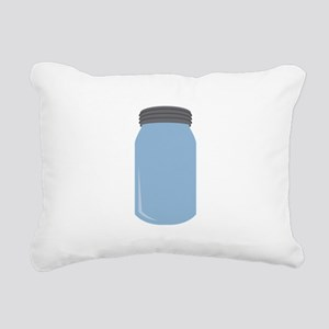 Mason Jar Rectangular Canvas Pillow