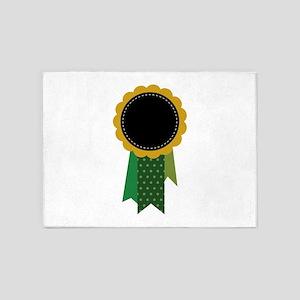 Award Ribbon 5'x7'Area Rug