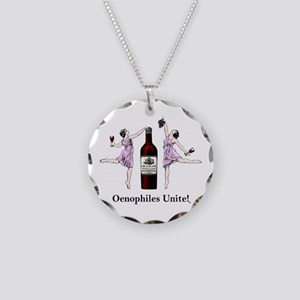 Oenophiles Unite! Necklace