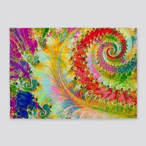 The Spiral  5'x7'Area Rug