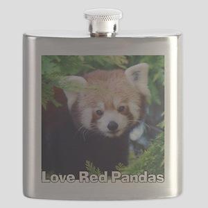 Love Red Pandas Flask