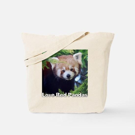 Love Red Pandas Tote Bag
