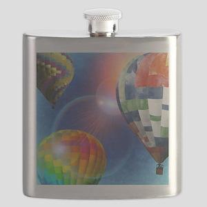Hot Air Balloons Flask