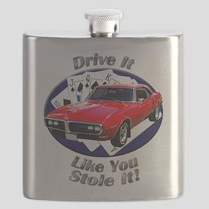 Classic Pontiac Firebird Flask