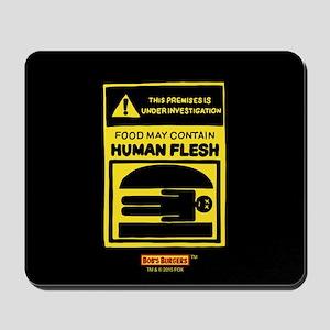 Bob's Burgers Human Flesh Mousepad