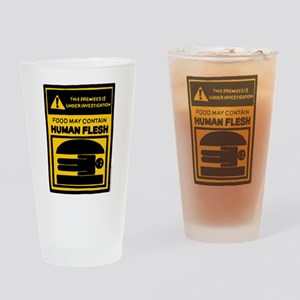 Bob's Burgers Human Flesh Drinking Glass