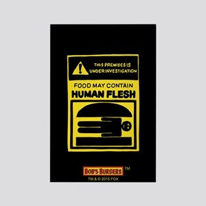 Bob's Burgers Human Flesh Rectangle Magnet