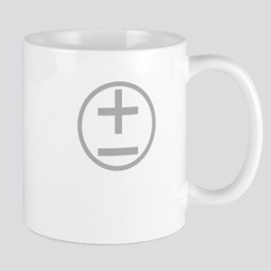 BBTF Day Plus Minus Circle Light Mugs