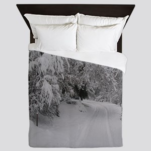 Winter Forest Queen Duvet