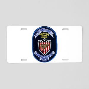 Customs K9 Officer Aluminum License Plate