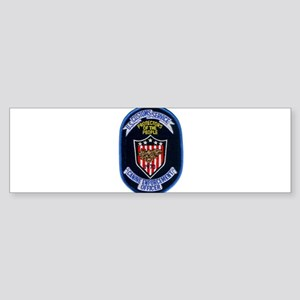 Customs K9 Officer Sticker (Bumper)