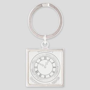 BTTF Day Clock Tower Design Keychains