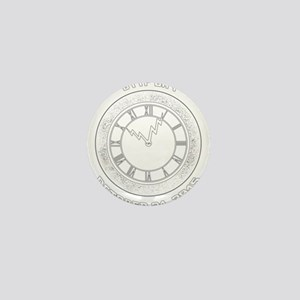 BTTF Day Clock Tower Design Mini Button