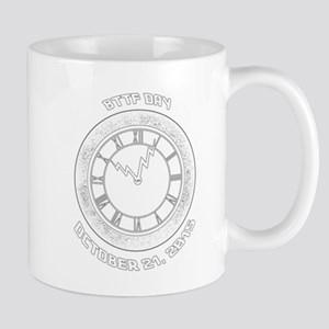 BTTF Day Clock Tower Design Mugs
