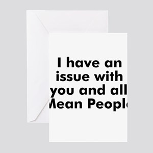 I have an issue with you and  Greeting Cards (Pk o