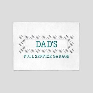 Grandpas Garage 5'x7'Area Rug