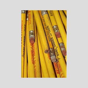 Pencils Rectangle Magnet