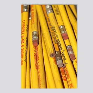 Pencils Postcards (Package of 8)