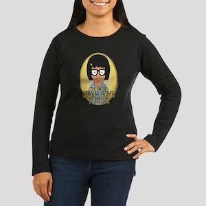 Bob's Burgers Tin Women's Long Sleeve Dark T-Shirt