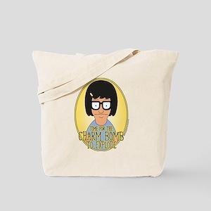 Bob's Burgers Tina Charm Bomb Tote Bag