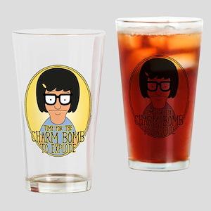 Bob's Burgers Tina Charm Bomb Drinking Glass